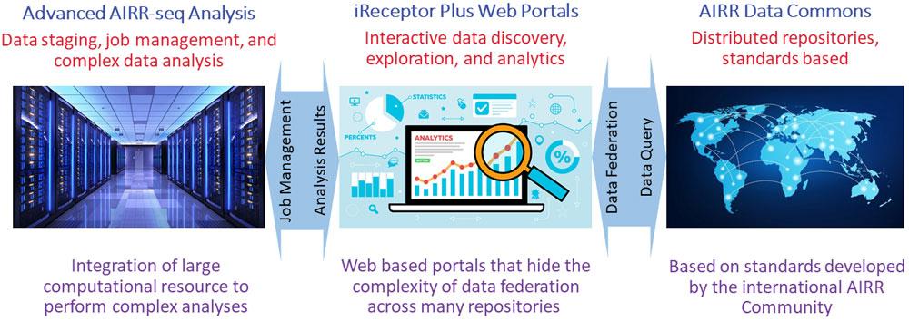 The High-Level iReceptor Plus Platform Architecture