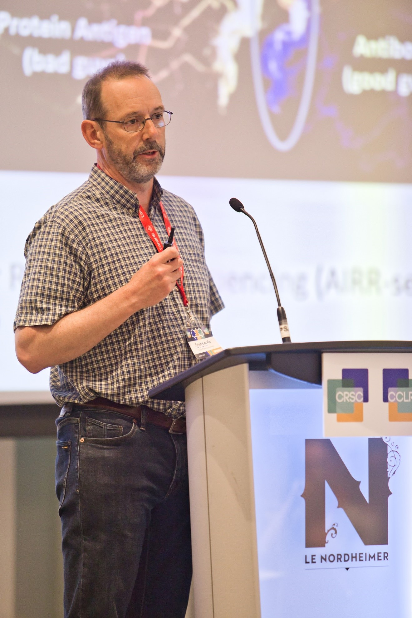 iReceptor Plus presented at the Canadian Research Software Conference in Montreal